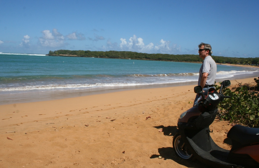 scooter tour of Puerto Rico